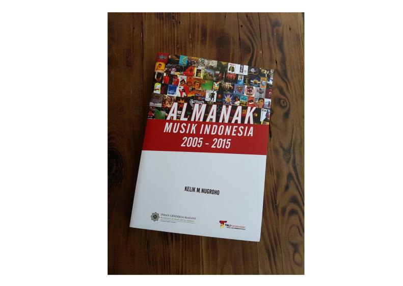 Almanak Musik Indonesia 2005 - 2015. (Foto: Tokopedia)